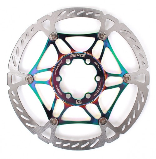 디스크 로터 플라즈마 (레인보우) | Disc Rotor Titanium Plasma Coating (Rainbow)