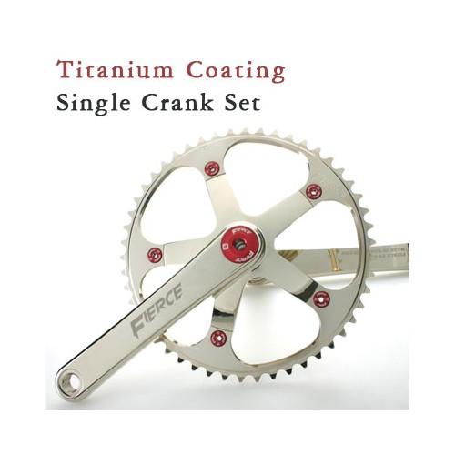 트랙전용 FS9000 싱글 크랭크 SET | FS9000 Single Crank SET for Track Only