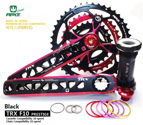 TRX 10단 프레스티지 크랭크셋   TRX 10-speed Prestige Crank Set